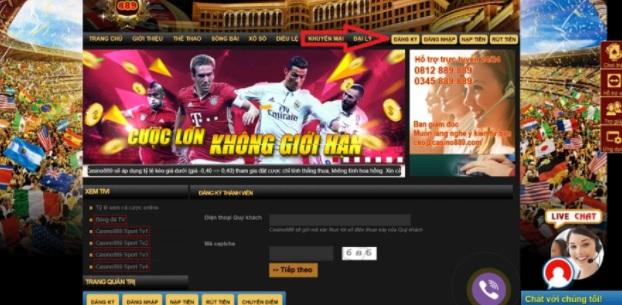 đăng ký tài khoản casino889